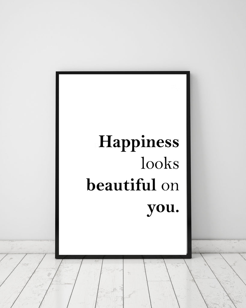 Happiness - Papercut Prints