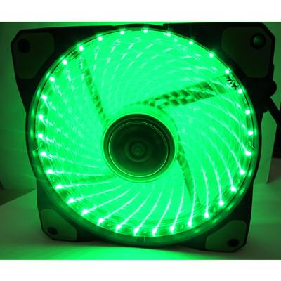 Evo Labs Vegas 12cm 9 Blade 32 x LED Green Fan 1000rpm with Rubber Grommet