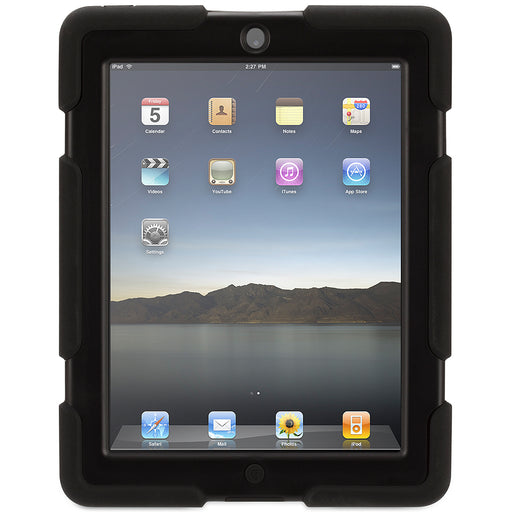 Griffin  GB35108-3  -  Survivor Military Duty Case for New iPad 2/3/4 - Black