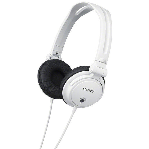 Sony  MDRV150W  -  Monitoring Headphones with Reversible Ear Cups - White