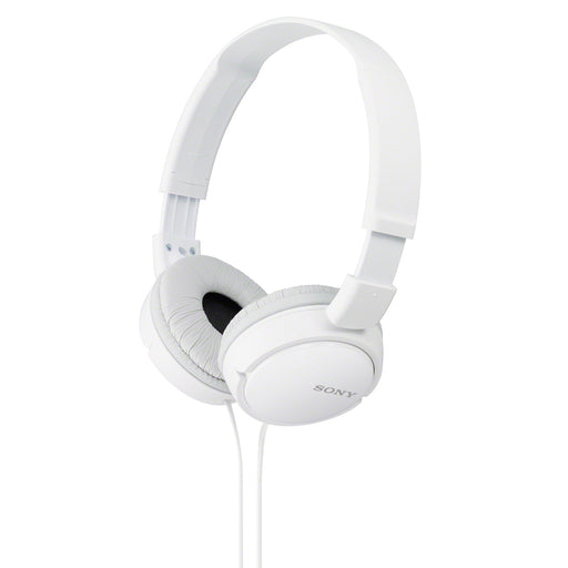 Sony  MDRZX110/WHITE  -  Over Ear Sound Monitoring Headphones - White