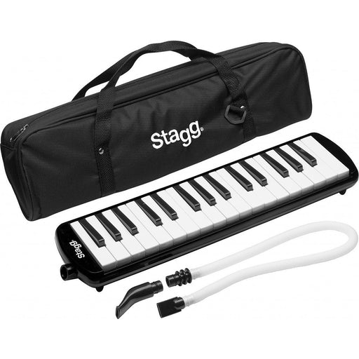 Stagg  MELOSTA32BK  -  Melodica Reed Keyboard - Black