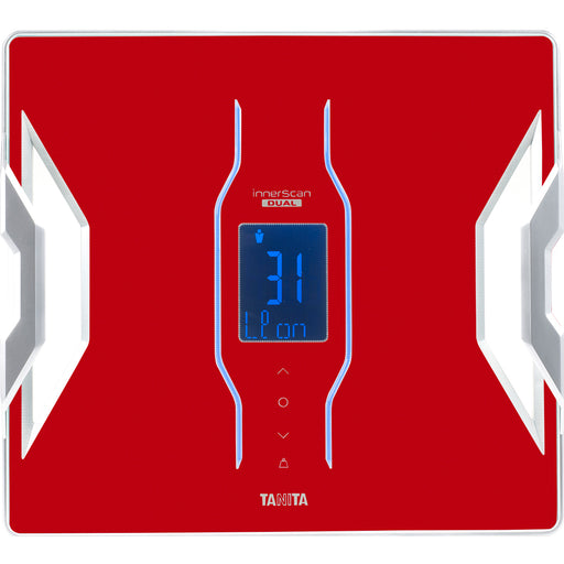 Tanita  RD953RD  -  Bluetooth Connected Smart Scale with Body Composition Monitor - Red