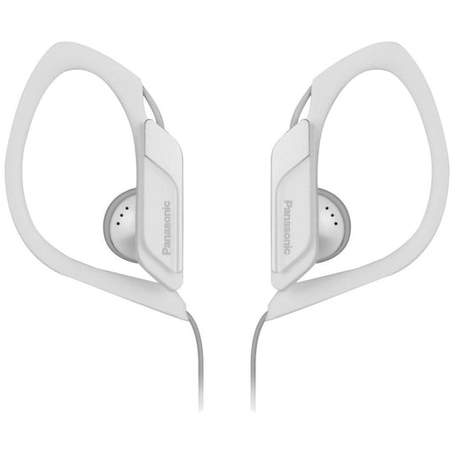 Panasonic  RPHS34/WHITE  -  Water & Sweat Resistant Sports Earbud Headphones - White