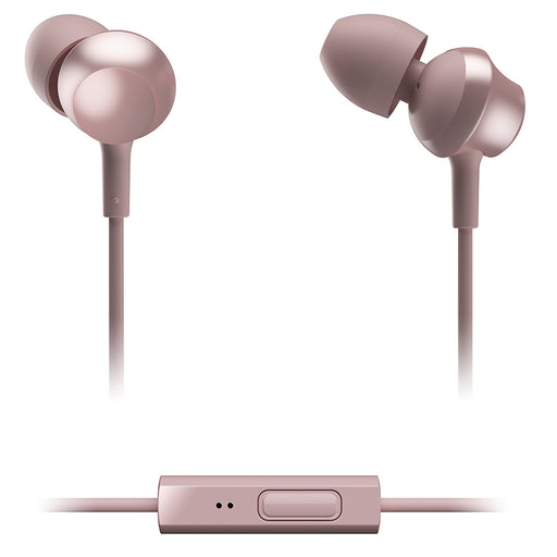 Panasonic  RPTCM360EP  -  In-Ear Headphones wiht Remote & Mic - Rose Gold