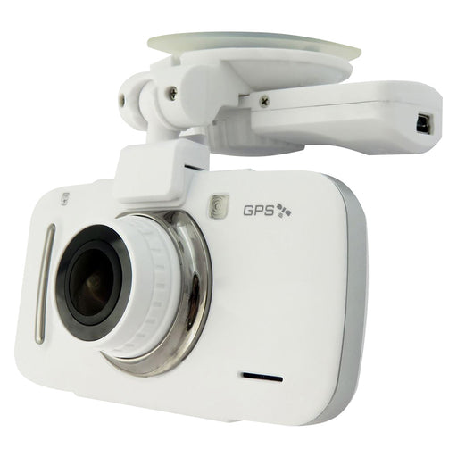 Silent Witness  SW005  -  Full HD Dash Cam with GPS - White