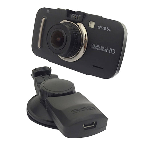 Silent Witness  SW006  -  Full HD Dash Camera with GPS - Black