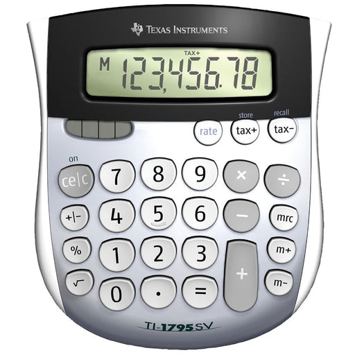 Texas Instruments  1795SVFBL11E1  -  TI1795SV Desk Calculator with Large Digits