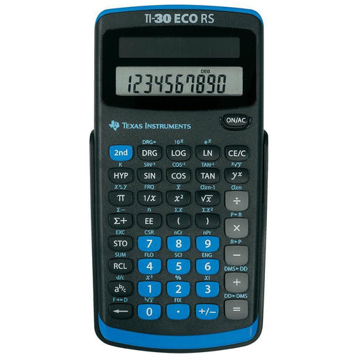 Texas Instruments  30RS/TBL/5E1  -  TI30ECORS Battery Powered Scientific Calculator
