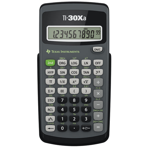 Texas Instruments  30XATBL6E3  -  TI30XA Basic Scientific Calculator with 10 Digit Display