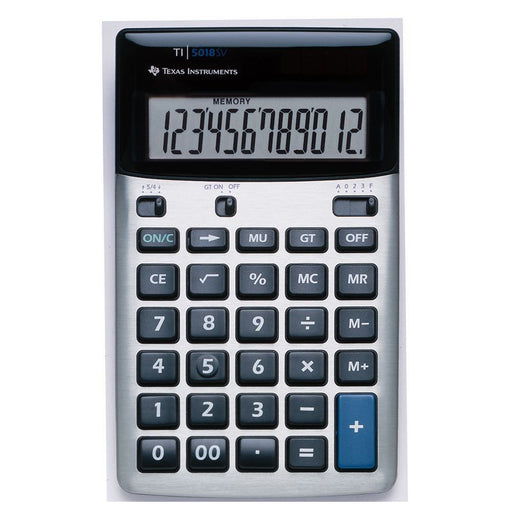Texas Instruments  5018FBL12E1  -  TI5018 Desk Calculator with 12 Digit Display