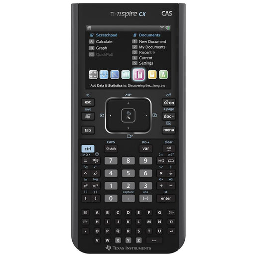 Texas Instruments  N3CASTBL2E7  -  NSPIRE CX-CAS Graphic Calculator with Touchpad