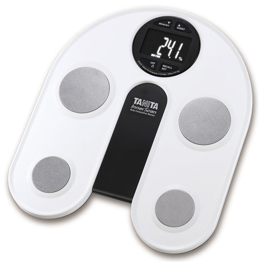 Tanita  UM076  -  Body Fat Monitor/Scale with White Backlit LCD Display