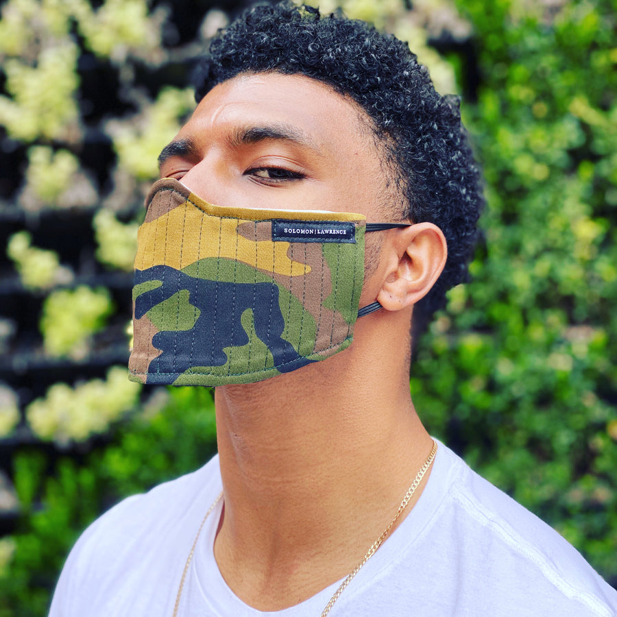 FUSION Face Mask: Army Fatigue/Olive