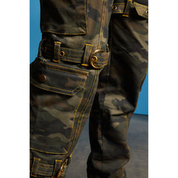 Alexandria Combat Cargos with Belted Straps