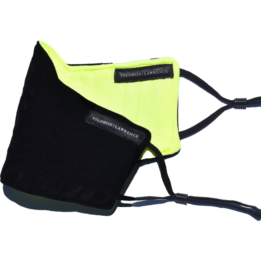 FUSION Face Mask: NEON YELLOW