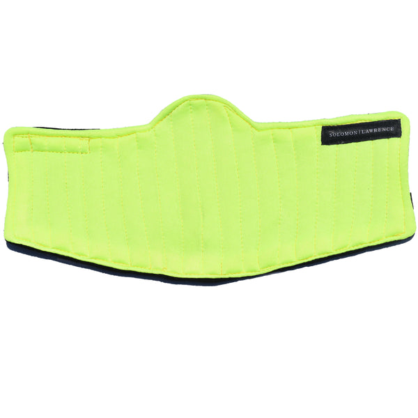 FUSION Face Mask: NEON YELLOW 2.0
