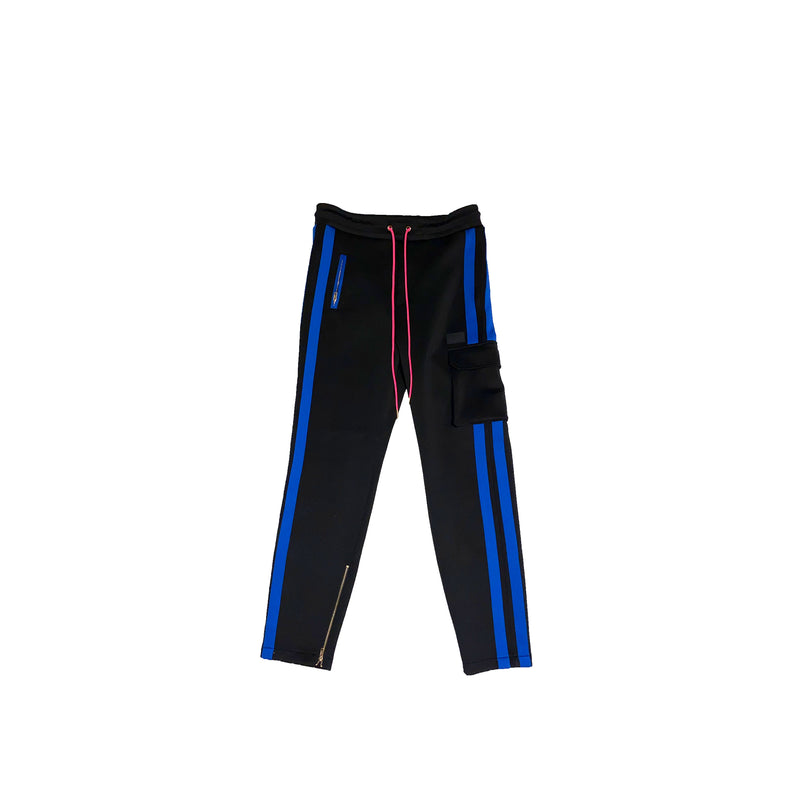 SL Jogger in Retro Black Neoprene
