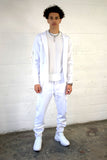 JOSHUA TRACKSUIT 2.0 ALL WHITE