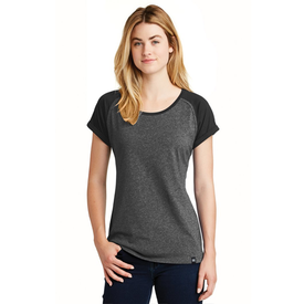 LNEA107 New Era® Ladies Heritage Blend Varsity Tee (1449049849898)