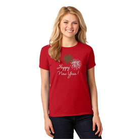 Christmas Ladies T-Shirt (4431087435854)