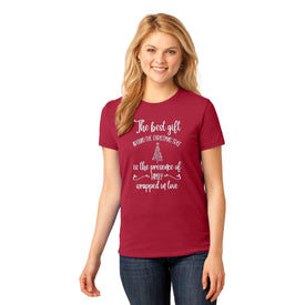 Christmas Ladies T-Shirt (4440785059918)
