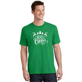 Christmas Men T-Shirts (4440187666510)