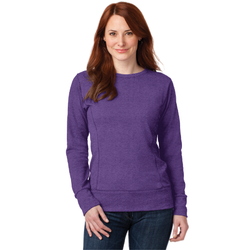 72000L Anvil® Ladies French Terry Crewneck Sweatshirt