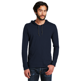 987 Anvil® 100% Ring Spun Cotton Long Sleeve Hooded T-Shirt (1451622137898)