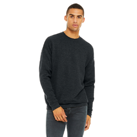 BC3945 Bella+Canvas ® Unisex Sponge Fleece Drop Shoulder Sweatshirt (1594291191850)