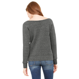 BC7501 Bella+Canvas ® Women's Sponge Fleece Wide-Neck Sweatshirt (1597768106026)