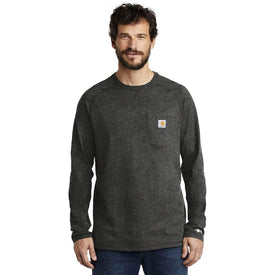 CT100393 Carhartt Force ® Cotton Delmont Long Sleeve T-Shirt (4816695427150)