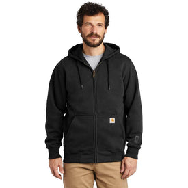 CT100614 Carhartt ® Rain Defender ® Paxton Heavyweight Hooded Zip-Front Sweatshirt (4817581211726)