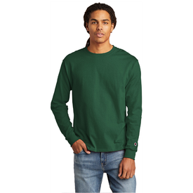 CC8C  Champion ® Heritage Jersey Long Sleeve Tee (1335512367146)