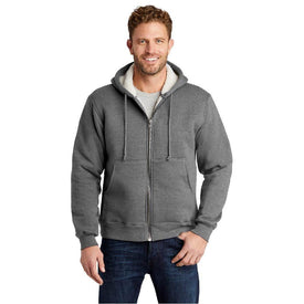 CS625 CornerStone® Heavyweight Sherpa-Lined Hooded Fleece Jacket (1466518569002)