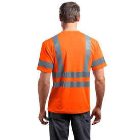 CS408 CornerStone® - ANSI 107 Class 3 Short Sleeve Snag-Resistant Reflective T-Shirt (1592821415978)