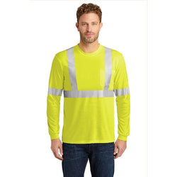 CS401LS CornerStone® ANSI 107 Class 2 Long Sleeve Safety T-Shirt (1592130175018)