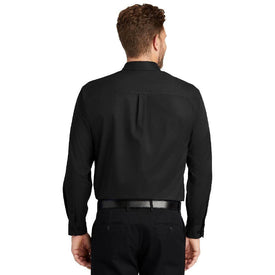 SP17 CornerStone® - Long Sleeve SuperPro™ Twill Shirt (1555893616682)