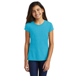 DT130YG District ® Girls Perfect Tri ® Tee (4820748533838)