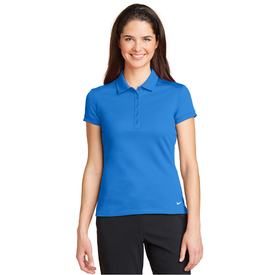 746100 Nike Ladies Dri-FIT Solid Icon Pique Modern Fit Polo (1324830195754)