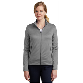 NKAH6260 Nike Ladies Therma-FIT Full-Zip Fleece (1844027981866)