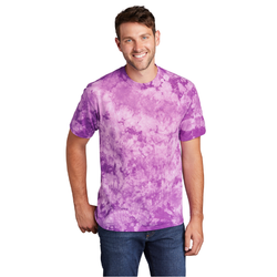 PC145 Port & Company ® Crystal Tie-Dye Tee (4801363148878)