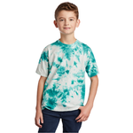 PC145Y Port & Company ® Youth Crystal Tie-Dye Tee (4801317437518)