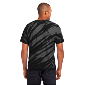 PC148 Port & Company® - Tiger Stripe Tie-Dye Tee (1470160994346)
