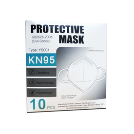 Copy of Protective Mask KN95 with filter, GB2626-2006 (4784279060558)