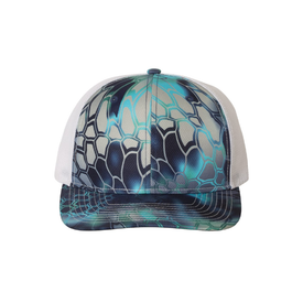 Richardson 112P Patterned Snapback Trucker Cap (4786669518926)