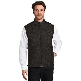 F236 Port Authority ® Sweater Fleece Vest (4401562550350)