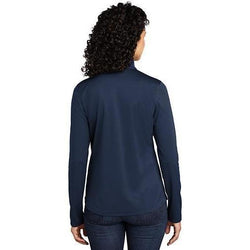 LK584 Port Authority ® Ladies Silk Touch ™ Performance 1/4-Zip