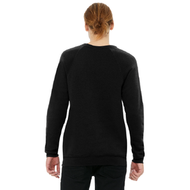 BC3901 Bella+Canvas ® Unisex Sponge Fleece Raglan Sweatshirt (1597784195114)