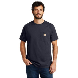 CT100410 Carhartt Force ® Cotton Delmont Short Sleeve T-Shirt (1849290489898)